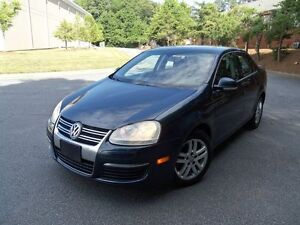 2006 vw jetta automatic 2.5 l gas loaded dark blue with black in