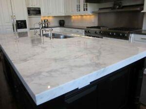 Granite, marble and quartz countertops