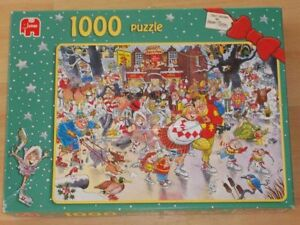 1000 PUZZLE CHRISTMAS ON ICE JUMBO COMME NEUF