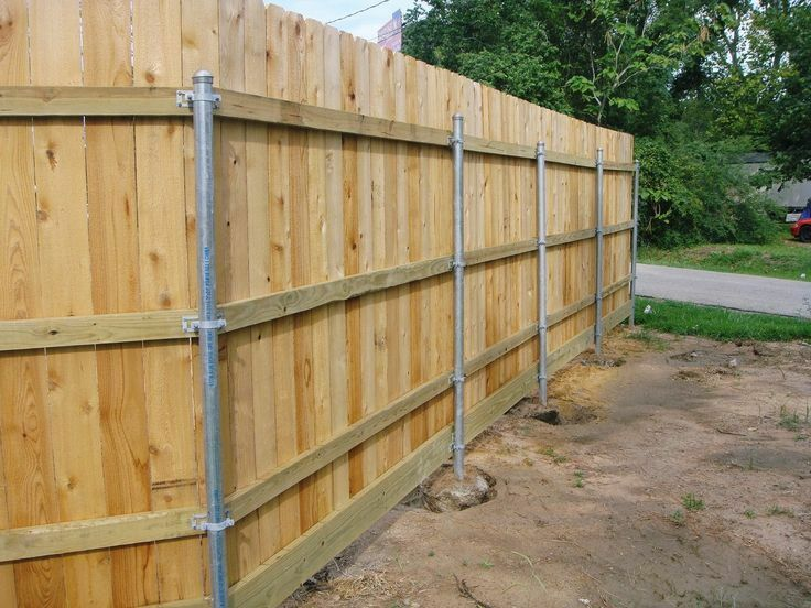 How To Install Metal Fence Posts Ebay