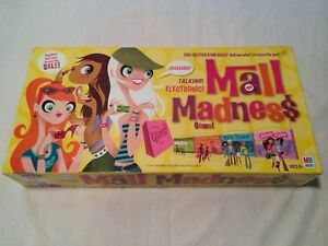 Mall Madness Vintage Board Game