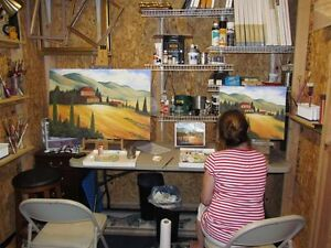 Looking for small space for temporary art studio