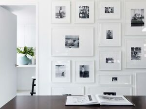 Accent wall - Custom picture/ art  frames - Sale