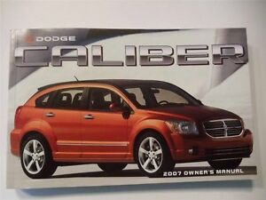 Dodge Caliber Owners Manual