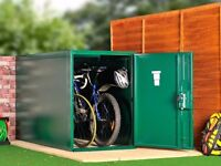 Asgard Steel Twin Bike Garden Shed