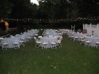 Folding Chairs/Tables Rental and much more....
