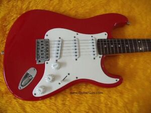 20th Anniversary Fender Affinity Red