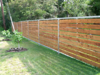 Fence Repair After Storm West Island/Montreal
