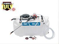DRAPER 34677 Broadcast Sprayer 98L 12V DC ATV Spot Quad Sprayer Spot Braod cast