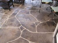 I'm looking for a experience stamped concrete worker