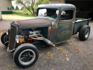HOT ROD TRUCK FRAME PLANS BOBBER TRADITIONAL U0026 RAT ROD 2 SETS PICKUP Z  CHASSIS (Fits: 1937 Ford)