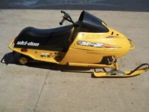 Looking for two mini z 120 cc ski doo sleds