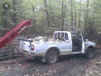 £40 truck loads of logs (barn stored) ash mix