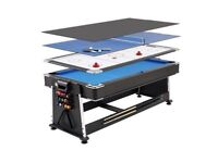 Professional 7ft 3 in 1 multigames table