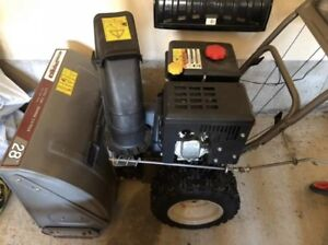 "28"" MDT two stage gas snowblower"