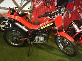 Beta 50 trials bike