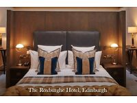 Painter and Decorator (The Roxburghe Hotel, Edinburgh)