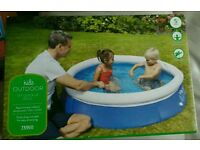 Kids 5ft quick up pool