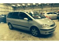 Ford galaxy 1.9 tdi 6 speed 130bhp ghia x chrome pack DVD player top of range clean tidy 7 seater px