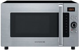 Daewoo koc9q4t stainless steel combination microwave £25. 07481 921982 - 1yr old - Average condition