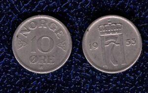 NORVEGIA-10-ORE-1953-CU-NI-KM-396-BB-mrm