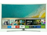 """Samsung 49"""" Curved 4k UHD new KS Series LED SMART WI-Fi TV BUILT IN HD FREEVIEW ."""