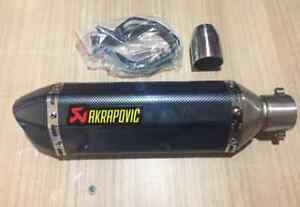 Motorcycle exhaust | Akrapovic | Modified slip on Exhaust NEW