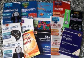 Educational Workbooks ages 8-12