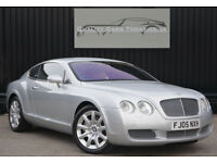 2005 Bentley Continental 6.0 W12 GT * Moonbeam + Portland & Nautic *