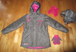 Manteau automne / hiver SOURIS MINI 7-8 ans