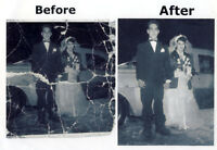 Old Photo Restoration Service plus Fredericton/NB Photos