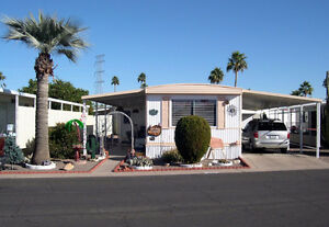 Mobile Home for Sale in Mesa Arizona-55+ park