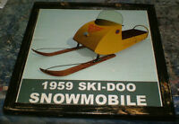 1959 Ski-Doo snowmobile - mounted, ready to display