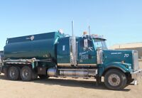 Tank Truck Driver Required for Rainbow Lake, AB Area
