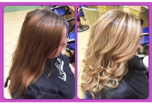 Hair special Full highlights & Cut $99+tax Thursdays with Jen