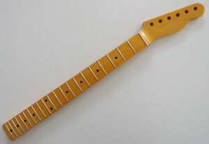 One 1-piece North American Maple neck for Fender Telecaster Tele guitar 56mm