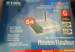 D-Link Wireless Router Never Opened NEW. BO!!