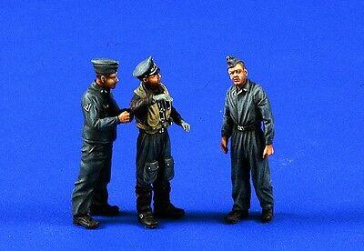 VERLINDEN PRODUCTIONS 0467 WWII Luftwaffe Pilot & Crew Figuren in 1:48