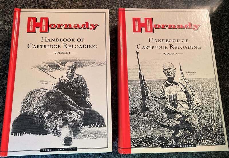 Hornady Handbook of Cartridge Reloading (6th Edition) Volumes 1 & 2