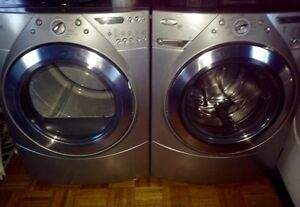 Whirlpool Duette Front Load Washer and Dryer Steam