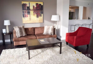 Furnished & Renovated Two Bedroom Yaletown Apartment