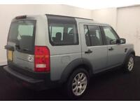 LAND ROVER DISCOVERY 3 2.7 TD V6 7 SEAT XS HSE LUXURY GS SE FROM £45 PER WEEK!