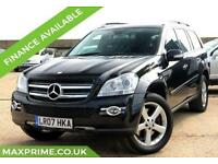 MERCEDES-BENZ GL CLASS 5.5 GL500 5D AUTOMATIC 385 BHP REAR DVD + ROOF + 7 SEATER