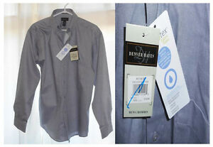 3 New Men's Long Sleeve Shirts With Tags  (Chilliwack)