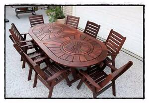 "Quality ""Kasule"" KWILA 9 pce OUTDOOR DINING SET Brisbane City Brisbane North West Preview"