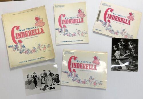 Cinderella Original Movie Presskit 1957 Disney - 41 Stills   *Hollywood Posters