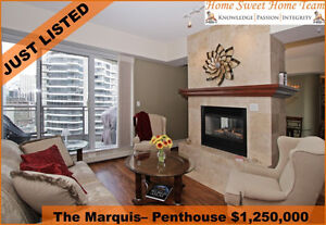 LUXURIOUS 2380 SQ FT DOWNTOWN CONDO WITH UNBELIEVABLE VIEWS
