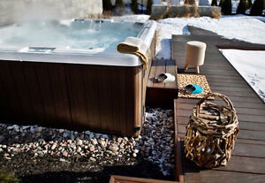 Loaded hot tub Priced to Clear at Dynasty Spas!!!