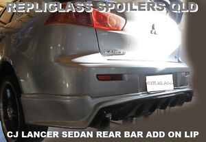 MITSUBISHI LANCER CJ SEDAN REAR BAR ADD ON SPOILER DIFFUSER VRX EVO