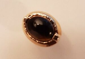 Tie Pin Tigers Eye Avon Quality Gold Plated $10